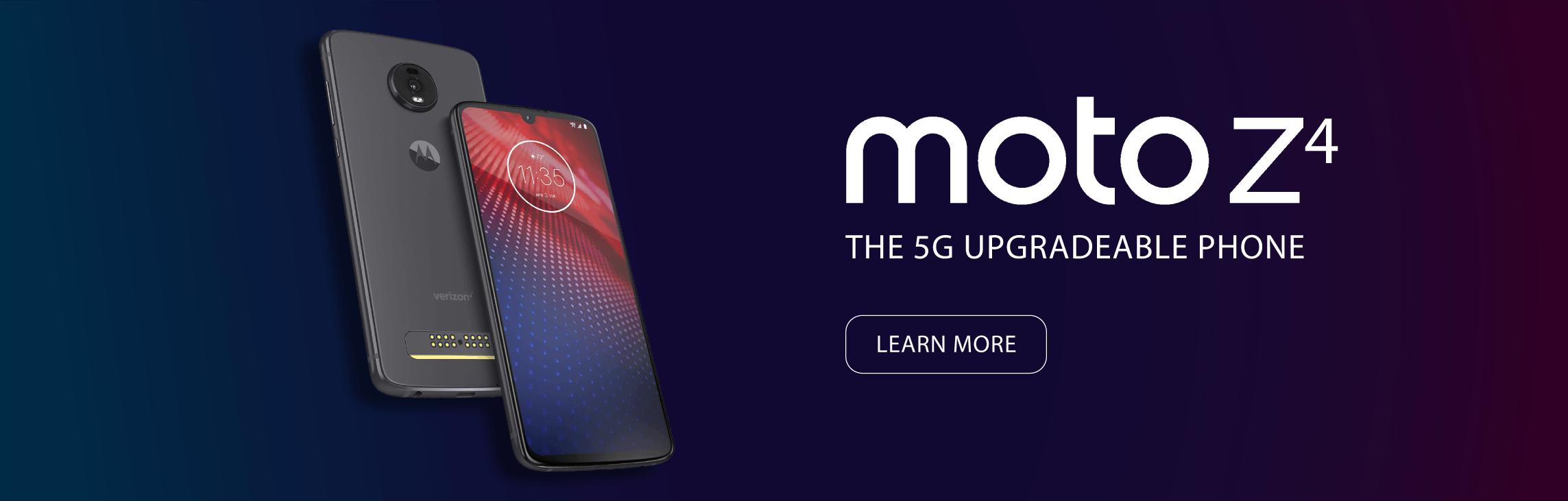 Motorola Moto Z4 Phone