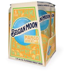 Molson Breweries 4C Belgian Moon Mango Wheat 1892ml
