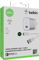 Belkin Boost Up Quick Charge 3.0 USB-A to USB-C Wall Charger Adapter