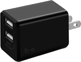 Blu Element Dual USB 3.4A Wall Charger