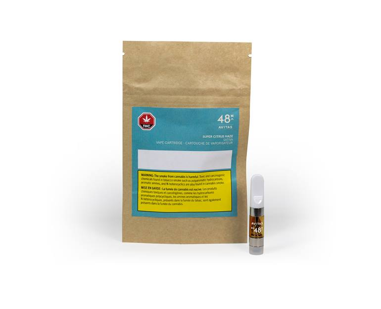48North Atvias - Super Citrus Haze 0.5g Vape Cartridge Image