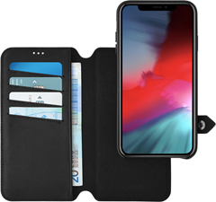 Ercko iPhone XS Max 2-1 Airflex Magnet Case + Wallet