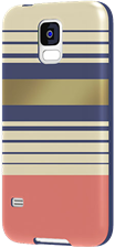 Agent18 Galaxy S5 Flexshield Case - Preppy Stripes