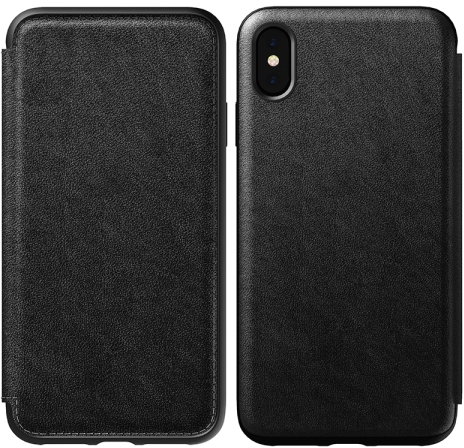 iPhone XS Max Rugged Leather Case