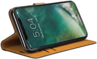 XQISIT iPhone XS MAX Slim Wallet Folio Case