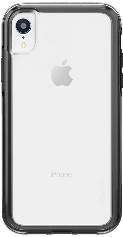 iPhone XR Adventurer Case - Clear And Black