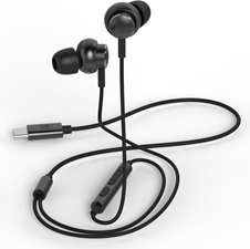 Scosche Noise Isolation Earbuds w/ Remote & Mic for Type-C Devices