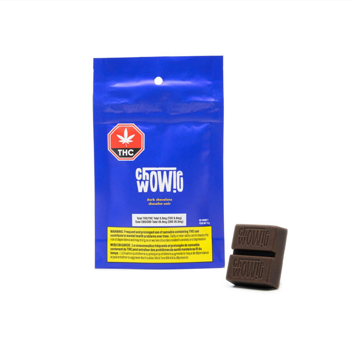 CBD Dark Chocolate - Chowie Wowie - Edible