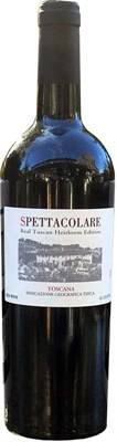 Wines Of The World Spettacolare IGT Real Tuscan Heirloom 750ml