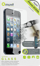 Muvit iPhone 5/5c/5s Tempered Glass 0.33mm Screen Protector