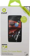 Muvit Motorola Droid Mini Clear Cover Ready Screen Protector (2PK)