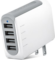 Naztech - N260 4.8A Quad USB Wall Charger