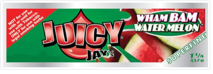 Juicy Jay, Wham Bam Watermelon Flavored Papers