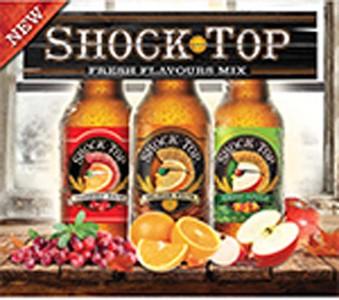 Labatt Breweries 12B Shock Top Cranberry White Mix 4092ml