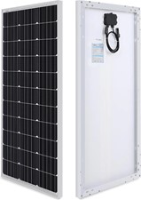 Renogy 100W 12V Monocrystalline Solar Panel (Compact Design)