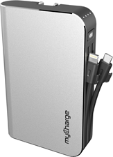myCharge Hub Max-C Powerbank 10,050 mAh with Cable