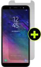Gadget Guard Galaxy A6 Black Ice Plus Screen Protector