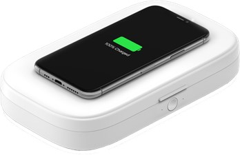 Belkin - Boost Charge Uv Sanitizer With Wireless Charging 10w