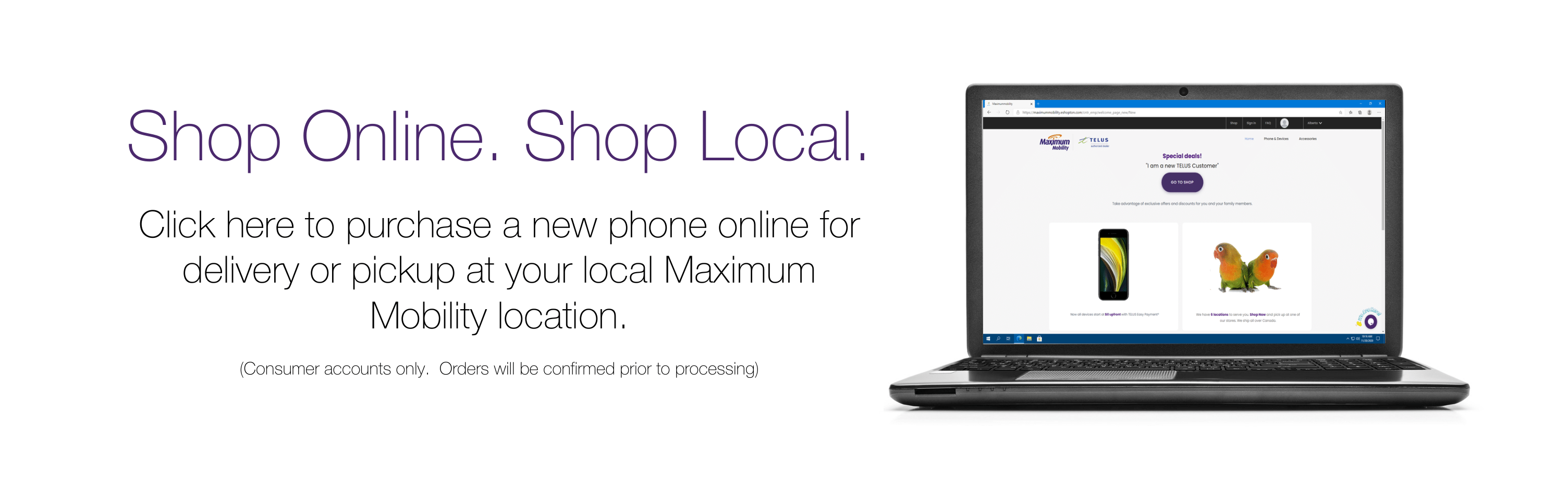 Click here to shop Maximum Mobility online!