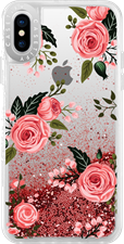 Casetify iPhone XS/X Liquid Glitter Case