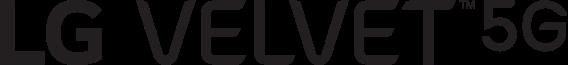 LG Velvet 5G wordmark