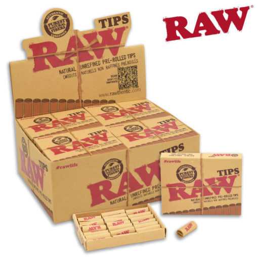 RAW, Pre-Rolled Tips