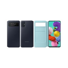 Samsung Galaxy A51 LTE S-View Wallet Cover