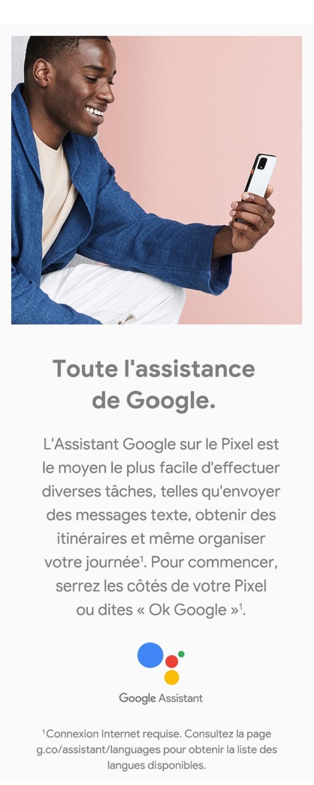 L'Assistant Google – Toute l'assistance de Google