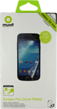 Muvit Samsung Galaxy S 4 Mini Clear Cover Ready Screen Protector