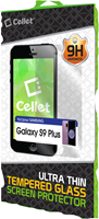 Cellet Galaxy S9+ Premium Curved Tempered Glass Screen Protector