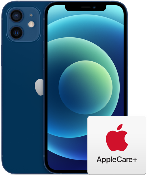 iPhone 12 avec logo AppleCare +