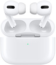 Apple - AirPods Pro BT Headphone w/Wireless Charging Case