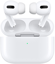 Apple - AirPods Pro BT Headphone w/Wireless Charging Case