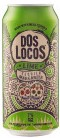 Independent Distillers Canada Dos Locos Lime Tequila Margarita 440ml
