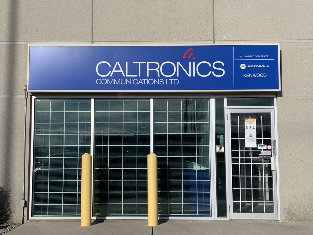 Calgary – Caltronics Communications, a Division of Prairie Mobile Communications Store Image
