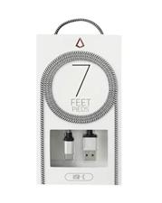Libratel 7ft USB-C Black White