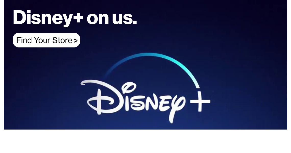Get Disney+ free with select Unlimited plans at Verizon Cellular Plus.