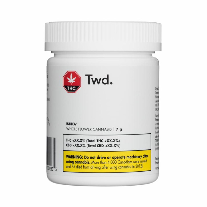 Twd Indica - Twd. - Dried Flower