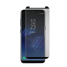 Gadget Guard Galaxy S8 Black Ice Cornice Curved Edition Tempered Glass Screen Guard