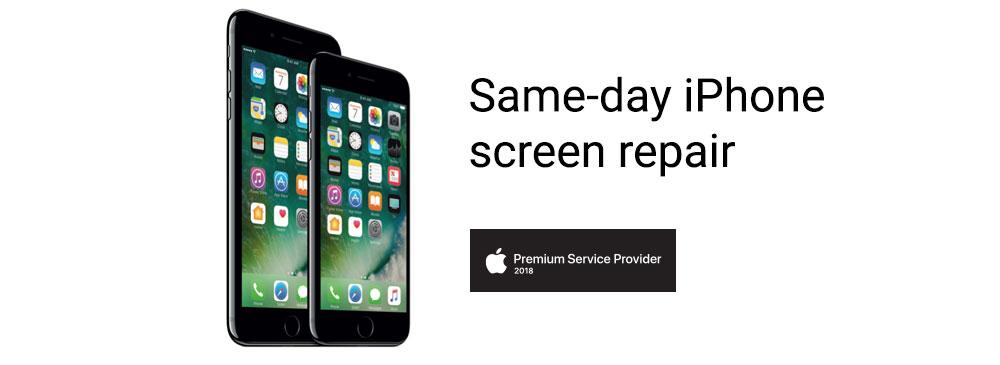 Same day iPhone screen repair