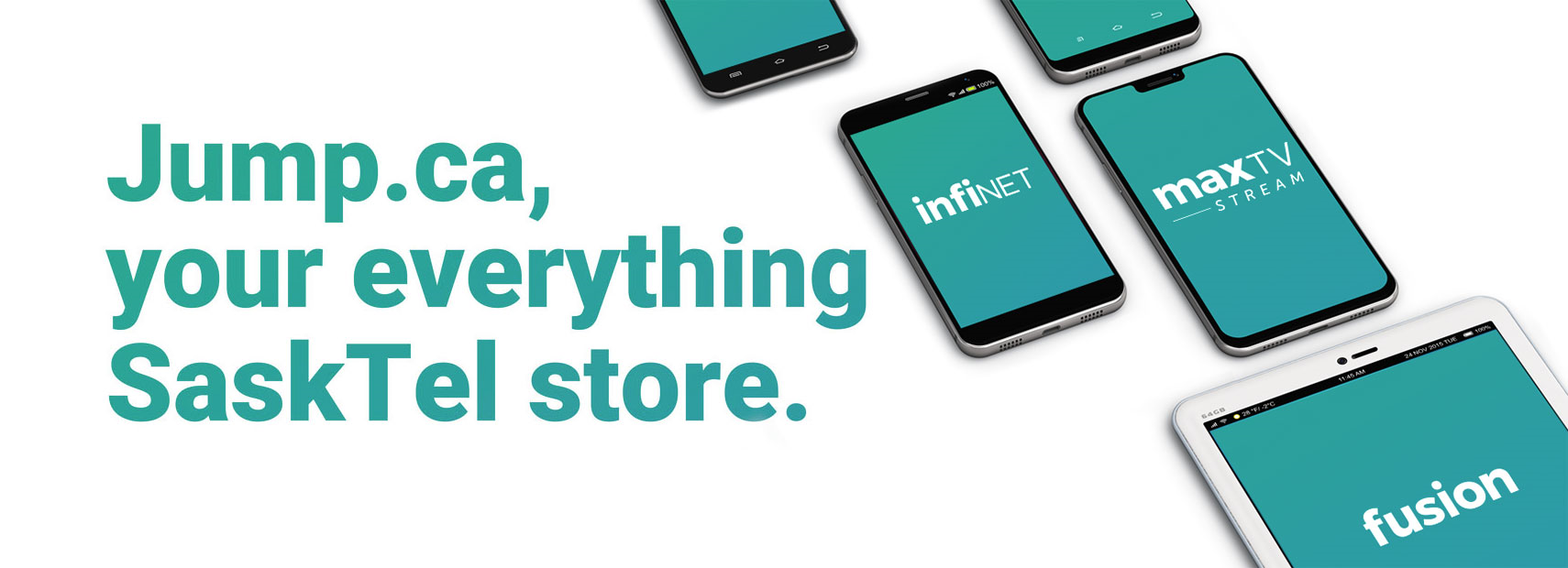 Jump.ca, Your Everything SaskTel Store
