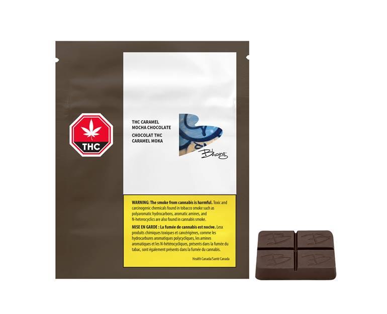 Bhang - THC Caramel Mocha Milk Chocolate Image