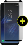 Gadget Guard Galaxy S8 Black Ice Plus Cornice 2.0 Full Adhesive Curved Tempered Glass Screen Guard