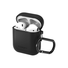 Spigen Airpod Silicone Case w/ Built in Carabiner