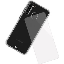Case-Mate Galaxy A21 Protection Pack Tough Case And Glass Screen Protector