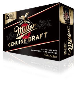 Molson Breweries 15C Miller Genuine Draft 5325m