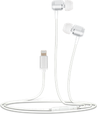 Helix In-Ear Wired Headphones for Apple Lightning Devices