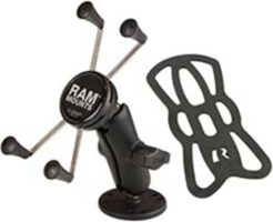 RAM Mounts RAM Large X-Grip with Drill-Down Base Rugged Vehicle Mount
