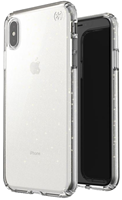 Speck iPhone XS Max Presidio Clear + Glitter Case