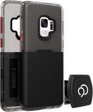 Nimbus9 Galaxy S9 Ghost 2 Case with Rotating Magnetic Wall And Vent Mounts